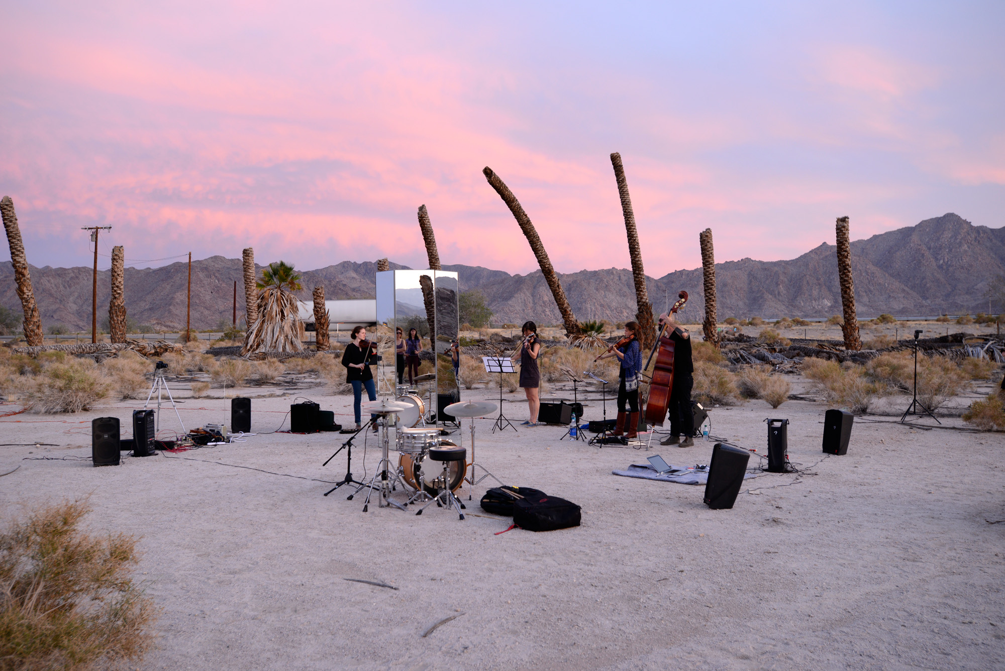 Performance by Scott Benzel, Desert Center (Composition I10 Mvmt IV: Dusk)