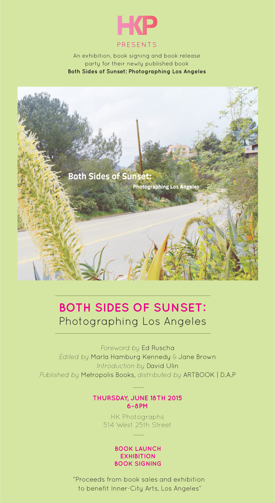 Both Sides of Sunset: Photographing Los Angeles