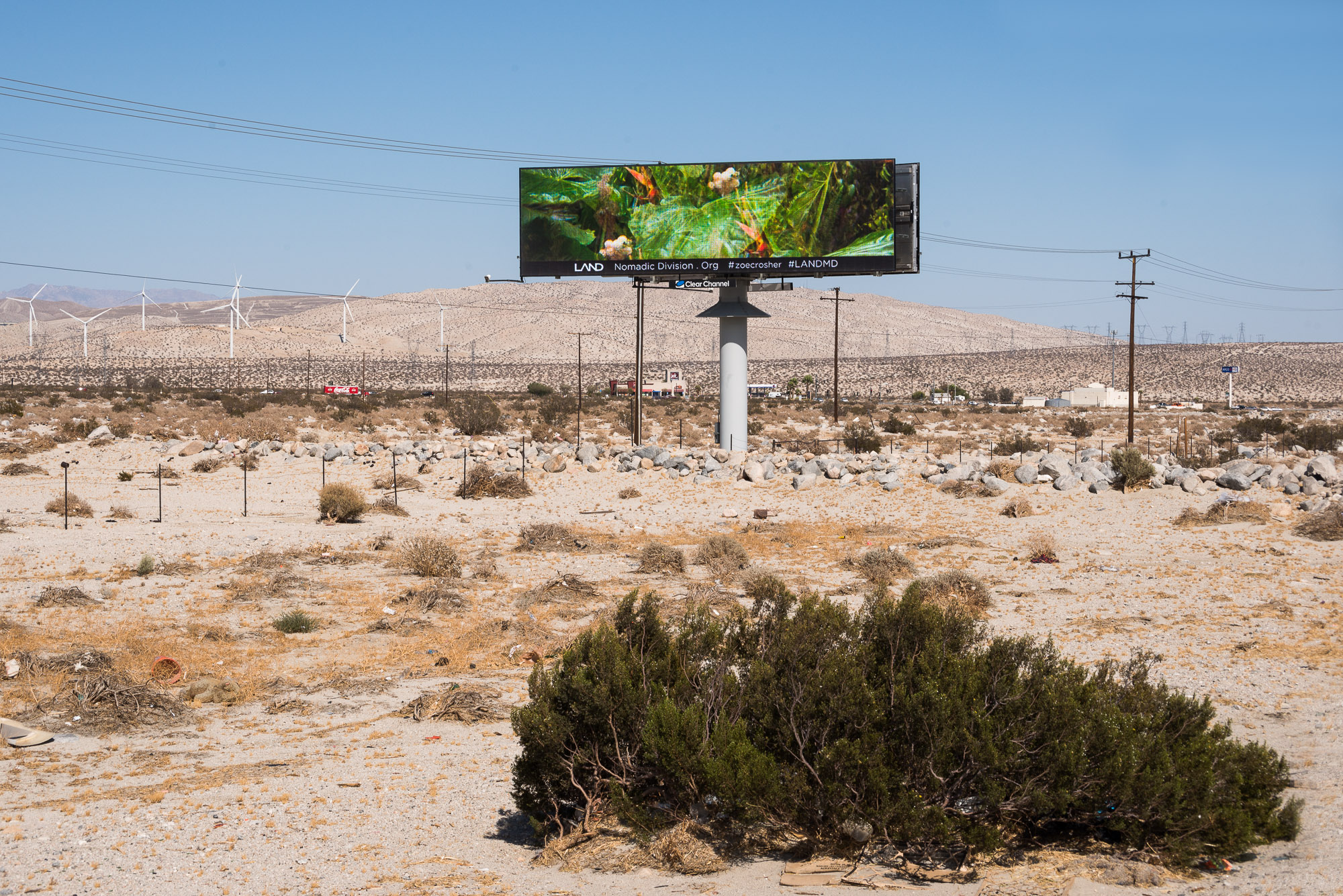 Mirage Billboard no.1 on Route 10