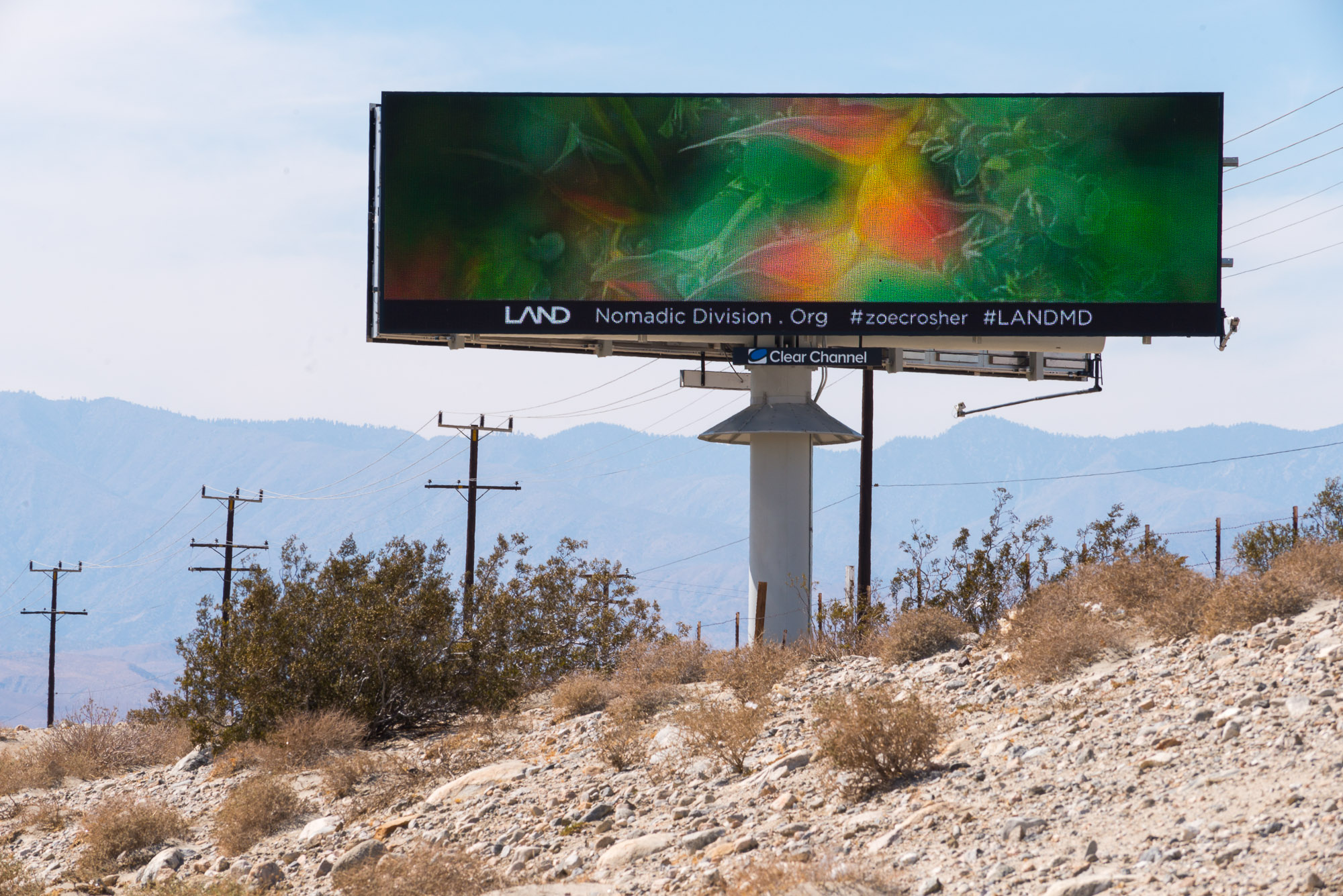 Mirage Billboard no.4 on Route 10