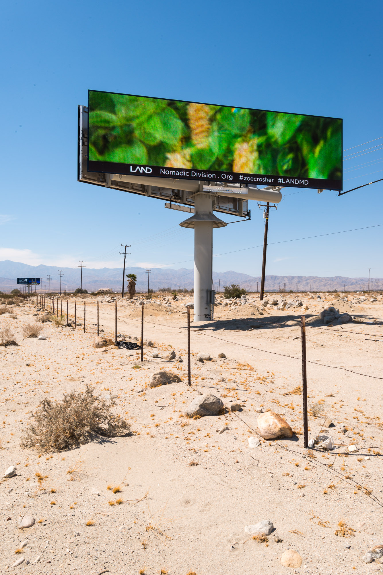 Mirage Billboard no.2 on Route 10