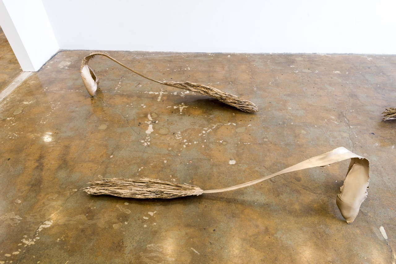 Installation view, LA-LIKE: Prospecting Palm Fronds, LAXART, Los Angeles, CA, September 2015