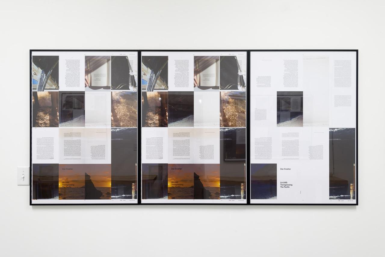 Installation Shot, Mayeur Projects, LA-LIKE: Tear Sheets