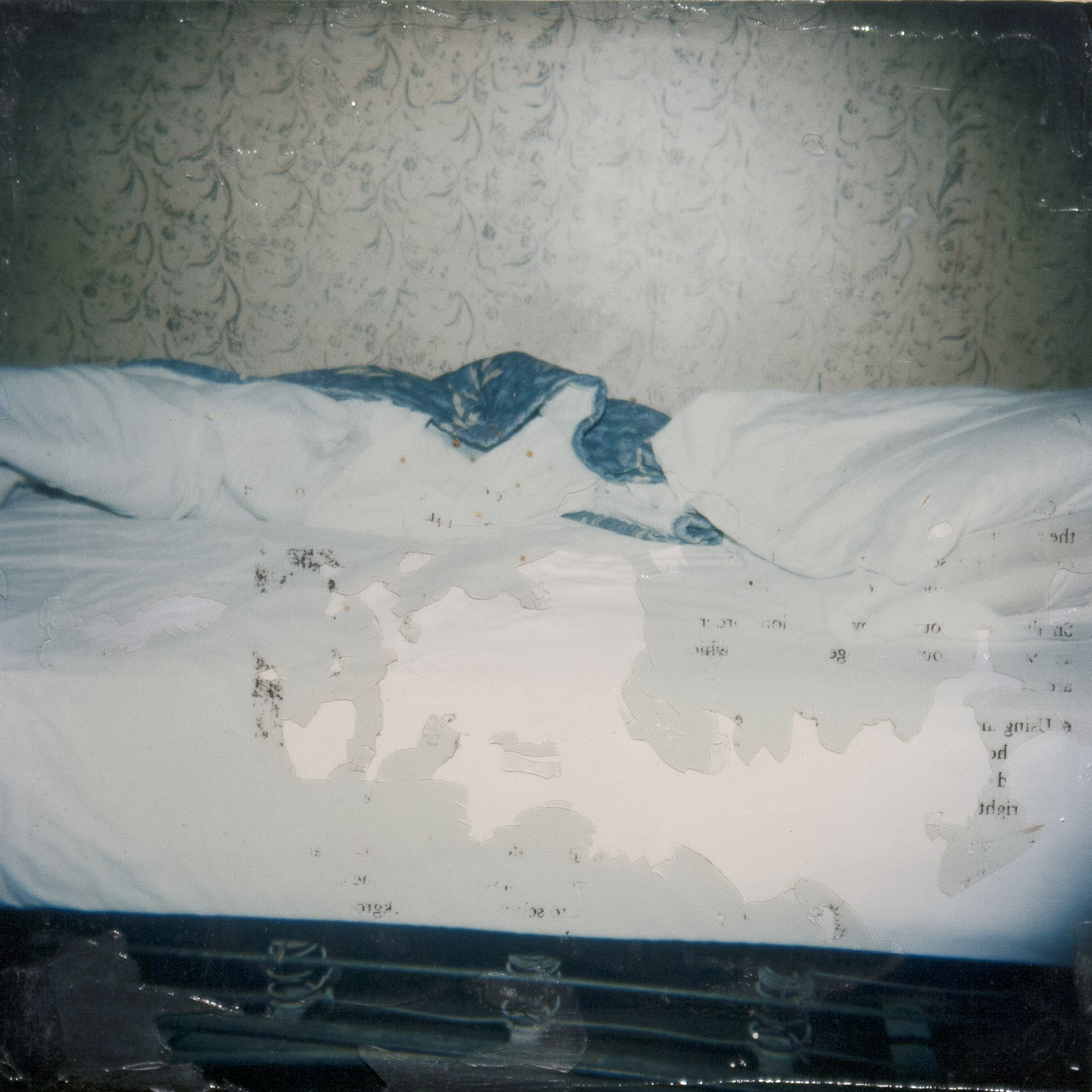 Unmade Bed (in Johanna's hotel motel in Midtown) from the series The Santa Cruz Kids