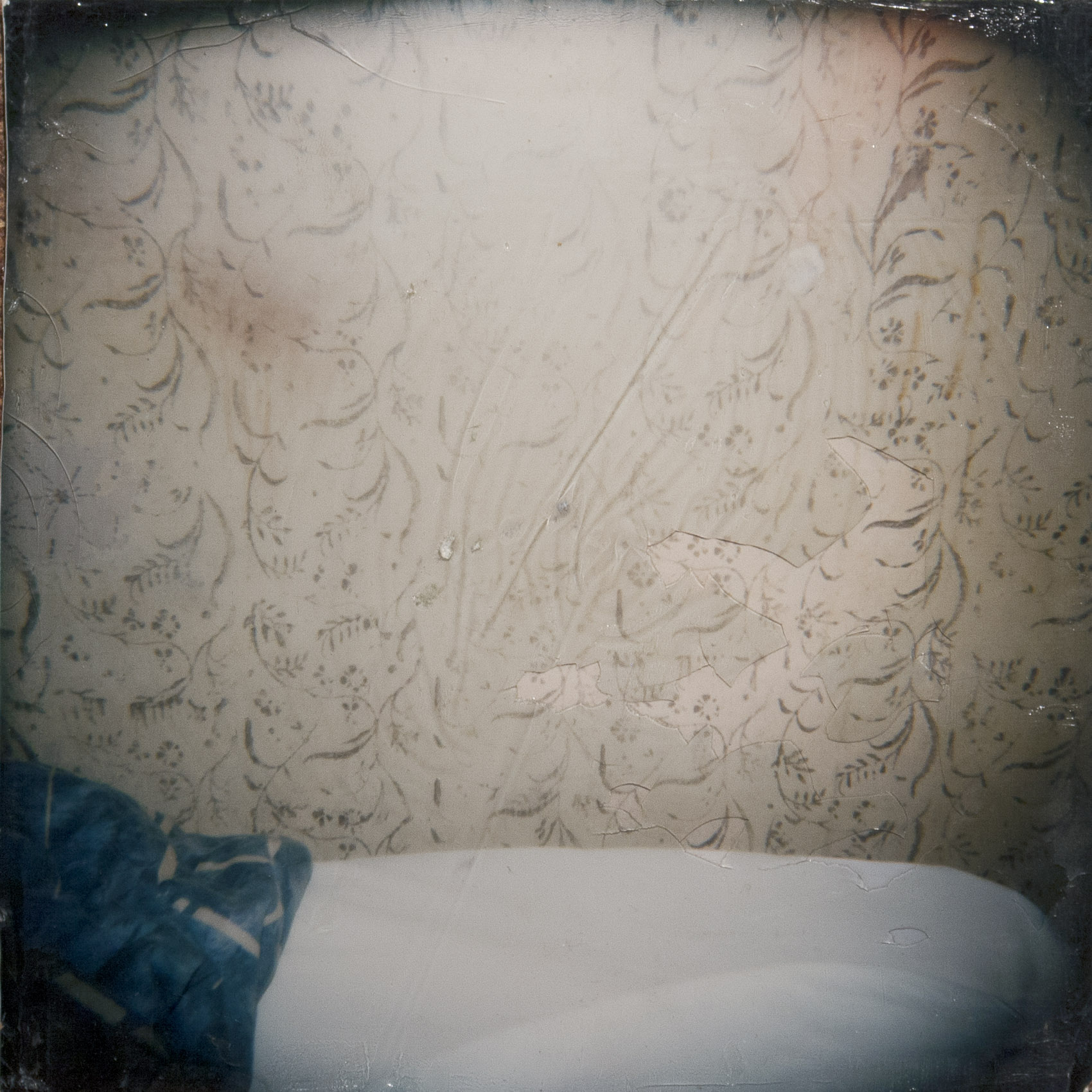 The Pre-Unmade Bed (in Johanna's hotel motel in Midtown)  from the series The Santa Cruz Kids