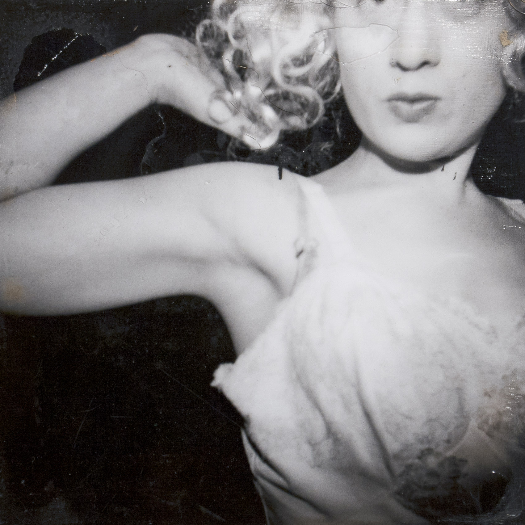 Johanna In Her Blonde Wig (after a night of working at the New York Post) v.1 from the series The Metropolitan Girls,