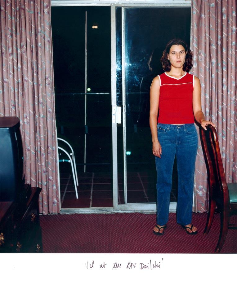 """Val Waiting With Me at the LAX Dai Ichi"", 2002"