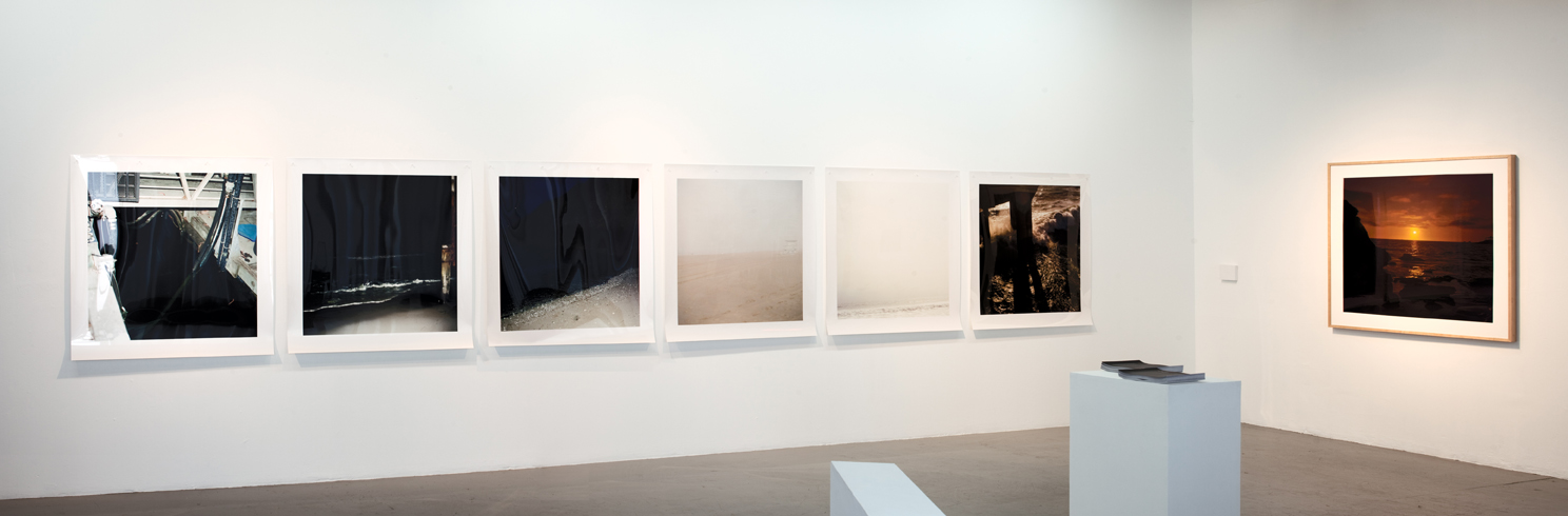 Install View of Trangressing the Pacific at Las Cienegas Projects, LA, CA, June 2011