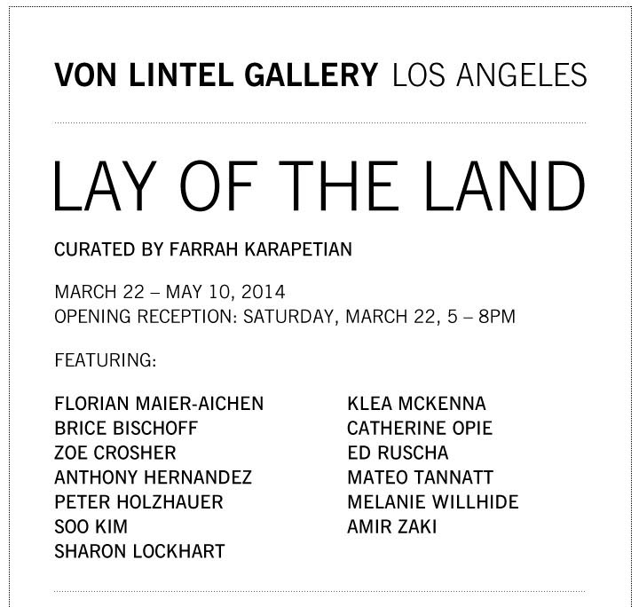Von Lintel Gallery - Lay Of the Land