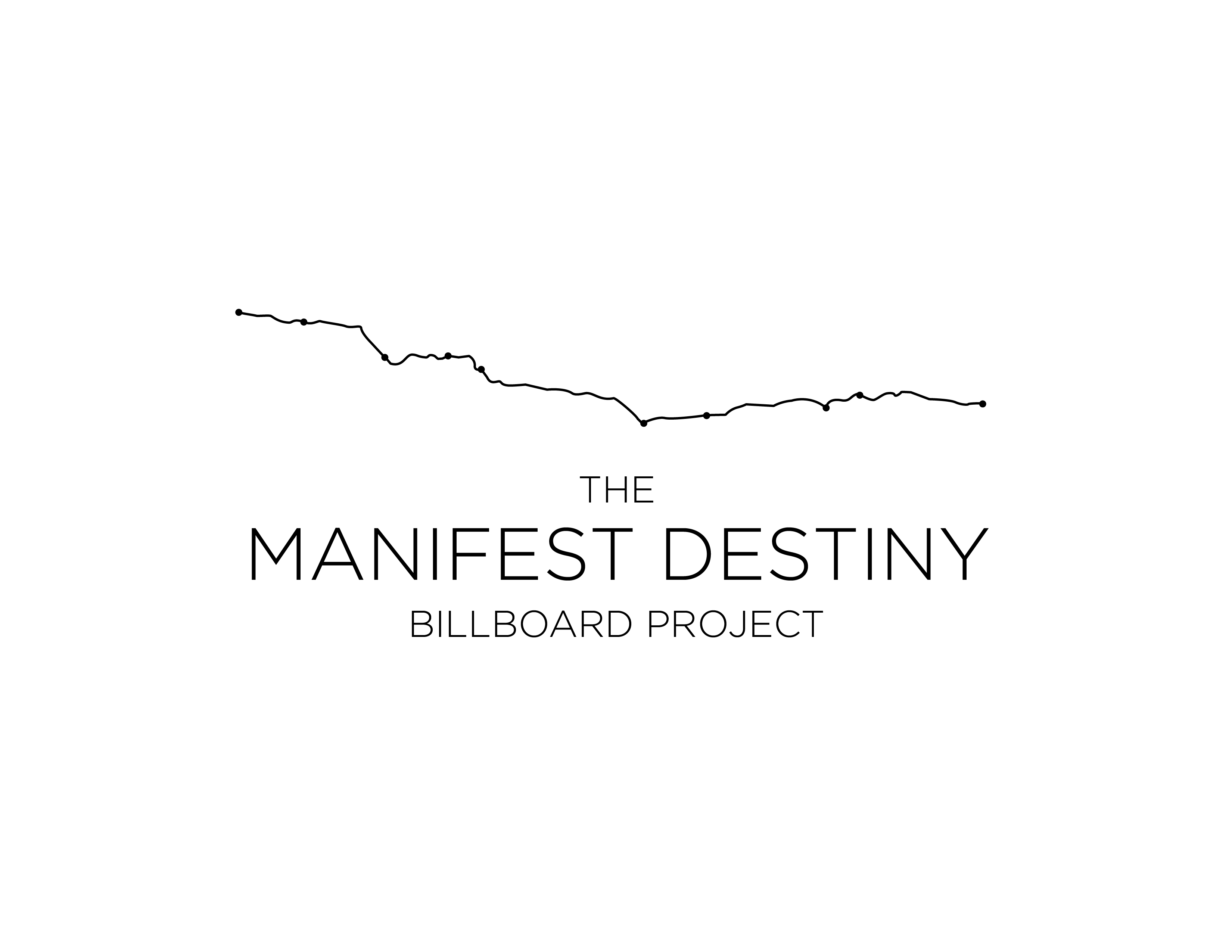 The Manifest Destiny Billboard Project Logo