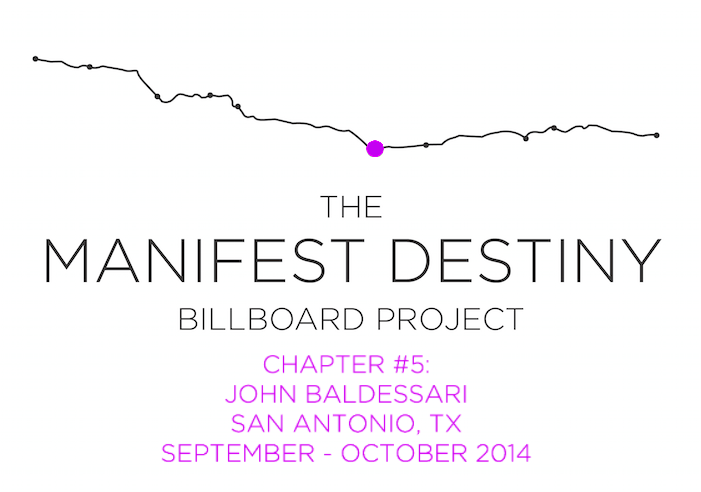 The Manifest Destiny Billboard Project