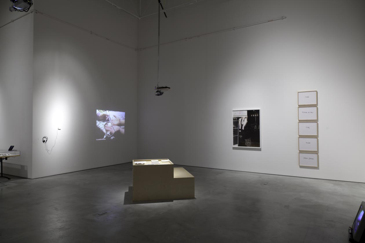 "Installation view ""I am another world"", Academy of Fine Arts, Vienna, January 2014"